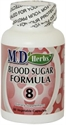 Picture of Blood Sugar Formula 8 - M.D. Herbs